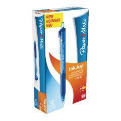 PaperMate Inkjoy Retractable Ballpoint Pen Medium Blue Pk12