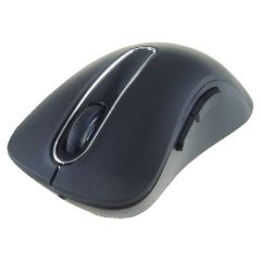 Wireless 5-Button Optical Scroll Mouse Black