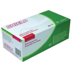 Shield Large Powder Free Latex Gloves (1000 Pack)