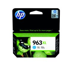 HP 963XL Original Ink Cartridge HY Cyan 3JA27AE