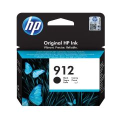 HP 912 Ink Cartridge Black 8.29ml 3YL80AE