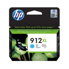 HP 912XL High Yield Ink Cartridge Cyan 9.9ml