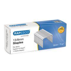 Rapesco 13/8mm Staples (5000 Pack)