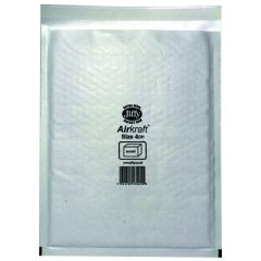 Jiffy AirKraft Bag Size 4 240x320mm White Pk50