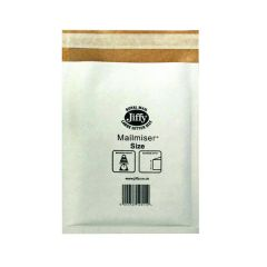 Jiffy Mailmiser Size 5 White MM-5 (50 Pack)