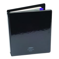 Concord Telephone Address Binder A5 Black