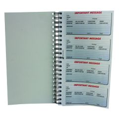 Q-Connect Duplicate Telephone Message Book 400