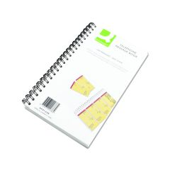 Q-Connect Self Sticky Telephone Message Book 320