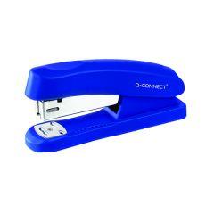 Q-Connect Half Strip Plastic Stapler Blue