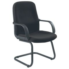 Jemini Visitor Cantilever Leg Chair Charcoal
