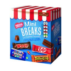 Nestle Mini Breaks 24 Mixed Selection 416g