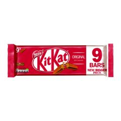 Nestle Milk Chocolate 2 Finger Kitkats (9 Pack)