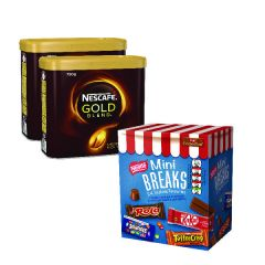 Nescafe Gold Blend Instant Coffee 750g Buy 2 and get a FREE Break Pack