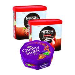 Nescafe Original 750g (2 Pack) FOC Quality Street 650g