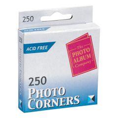 TPAC Photo Corners White PK250