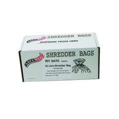 Safewrap Shredder Bag 40 Litre Pk100