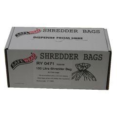 Safewrap Shredder Bag 100 Litre Pk50