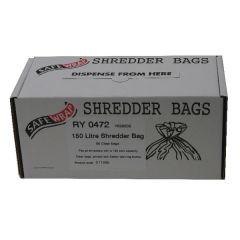 Safewrap Shredder Bag 150 Litre Pk50