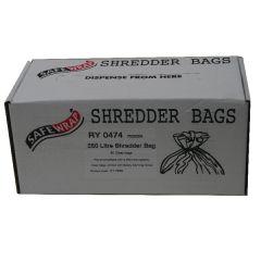 Safewrap Shredder Bag 250 Litre Pk50