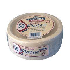 Super Rigid 7 Inch Biodegradable Plate Pk50