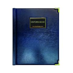 Identibadge GDPR Visitor Book with Binder