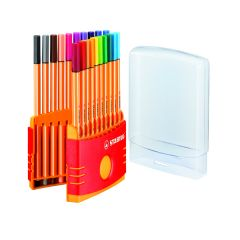 Stabilo Point 88 Fineliner Pen Assorted (20 Pack)
