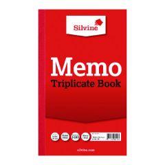 Silvine Triplicate Memo Book 210x127mm (6 Pack)