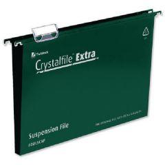 Crystalfile Green 50mm X Susp File Pk25