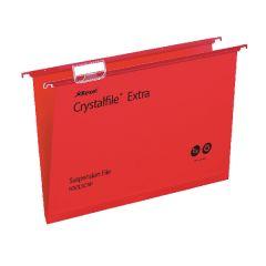 Crystalfile Red FC Ex Suspnsn File Pk25