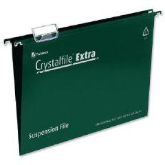 Crystalfile A4 Green Ex Suspsn File Pk25