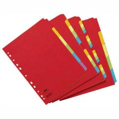 Concord Bright A4 Divider 10-Part Assorted 50899