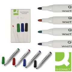 Drywipe Whiteboard Marker Assorted Pack 10