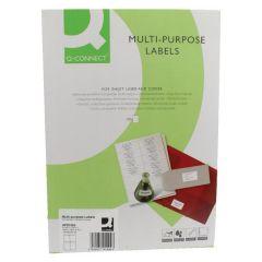 Copier Labels 4 per Sheet - 100 sheets