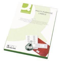 Laser & Inkjet Labels 65 per Sheet, 100 sheets per box