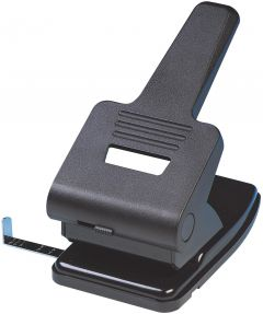 2 Hole Punch Extra Heavy Duty Black