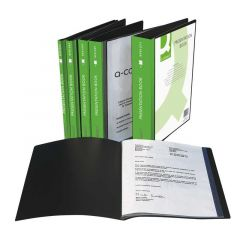 Presentation Display Book 40 Pocket Black