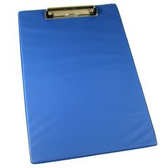 Q Connect PVC Clipboard Foolscap/A4 Blue