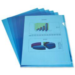 Cut Flush Folder A4 Pack of 100 Blue
