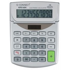 Q Connect Semi-Desktop Calculator 10-digit KF01604