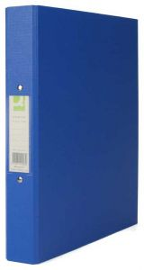 2-Ring Binder A4 25mm Polypropylene Blue Box 10's