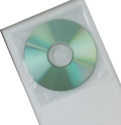 CD Envelope Plastic Pk 50
