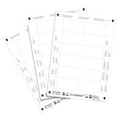 Name Badge Inserts 40x75mm 25 Sheets x 12 Inserts