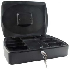 Cash Box 10 inch Black