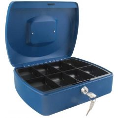 Cash Box 10 inch Blue