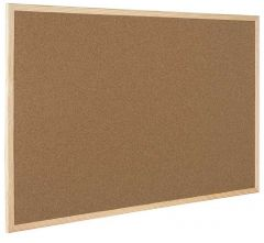 Cork Noticeboard Wooden Frame 900x1200mm