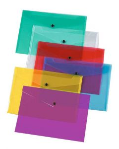 Stud Pocket Wallet A5 Asstd Packed 12's