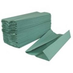 2Work Hand Towel 1 Ply Green Pk 2955 HT1301