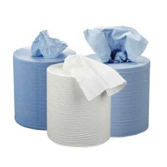 2Work Centrefeed Roll 2 Ply 150 Metre White Pk 6 C2W150