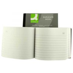 Q-Connect Wiro Bound Carbonless Duplicate Book 4x5 Inches
