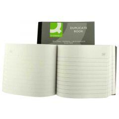 Q-Connect Duplicate Book 4x5 Inches Ruled Feint KF04094